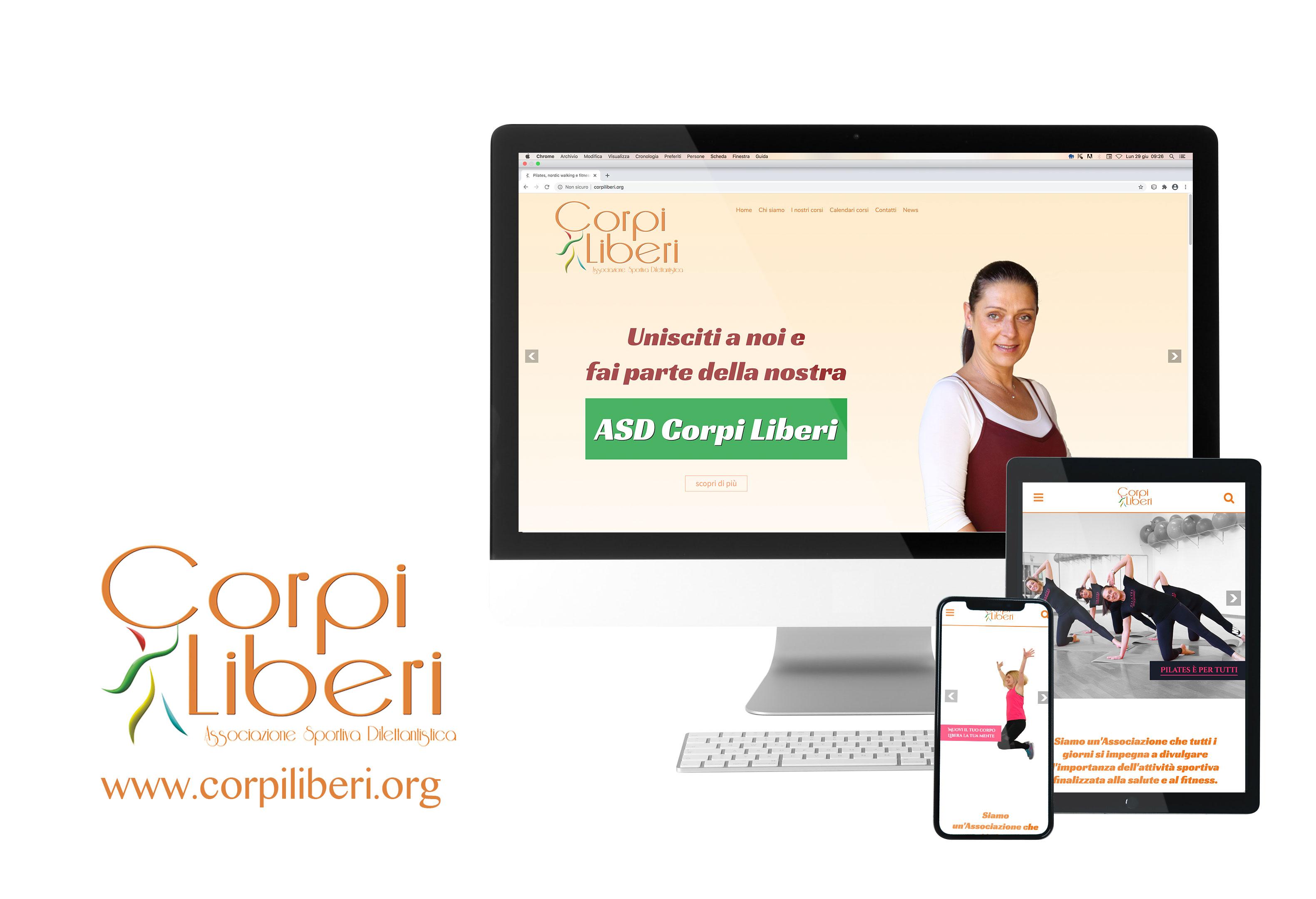 home page nuovo sito web